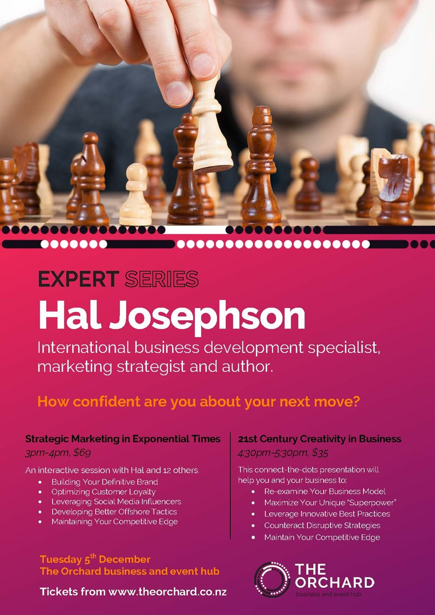 EXPERT SERIES - Hal Josephson, International business development specialist, marketing strategist and author.