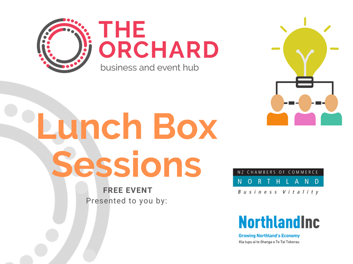 Lunch Box Session #4 How to manage a busy schedule